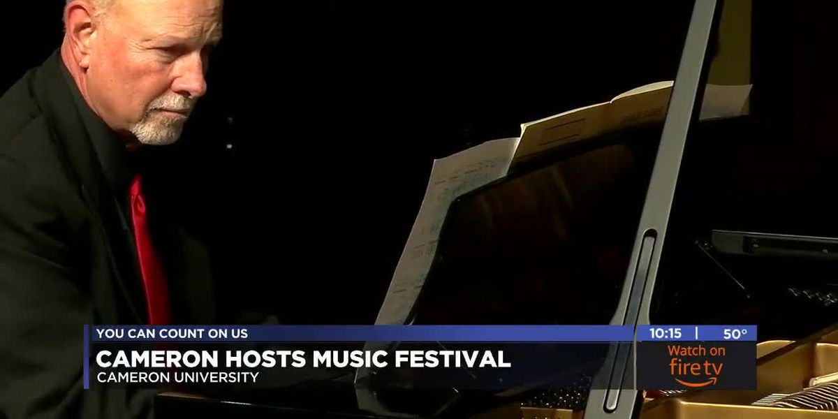 Cameron hosts New Music Festival