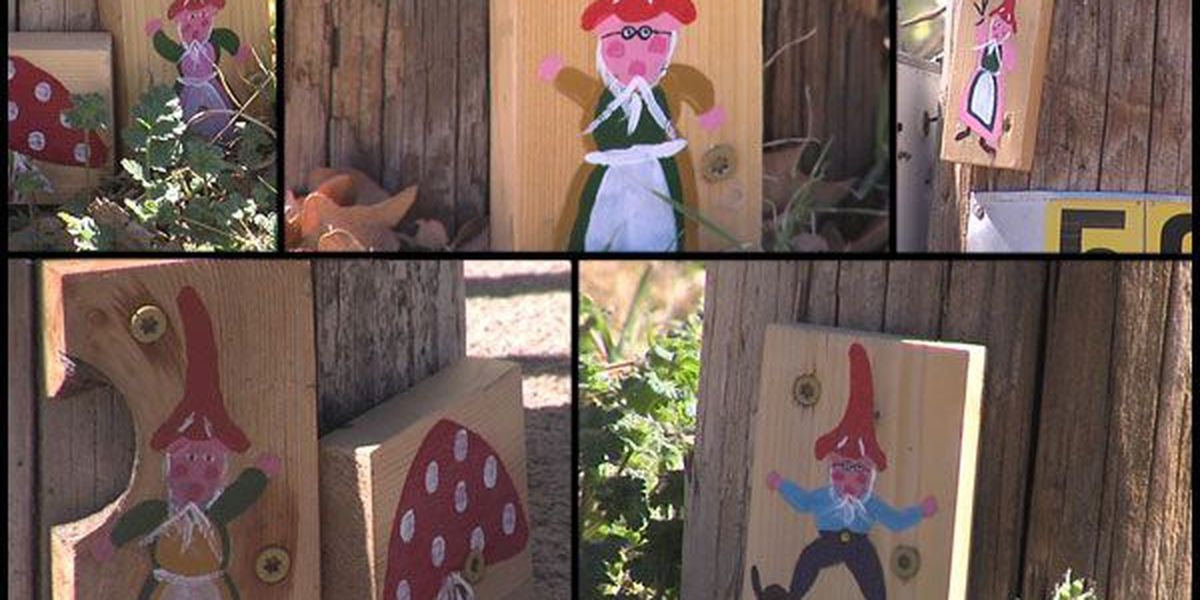 Gnomes call Medicine Park home