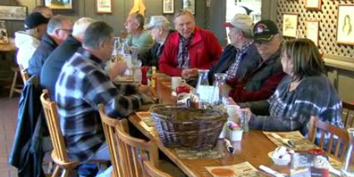 Retired LPD Officers met to reminisce about old times