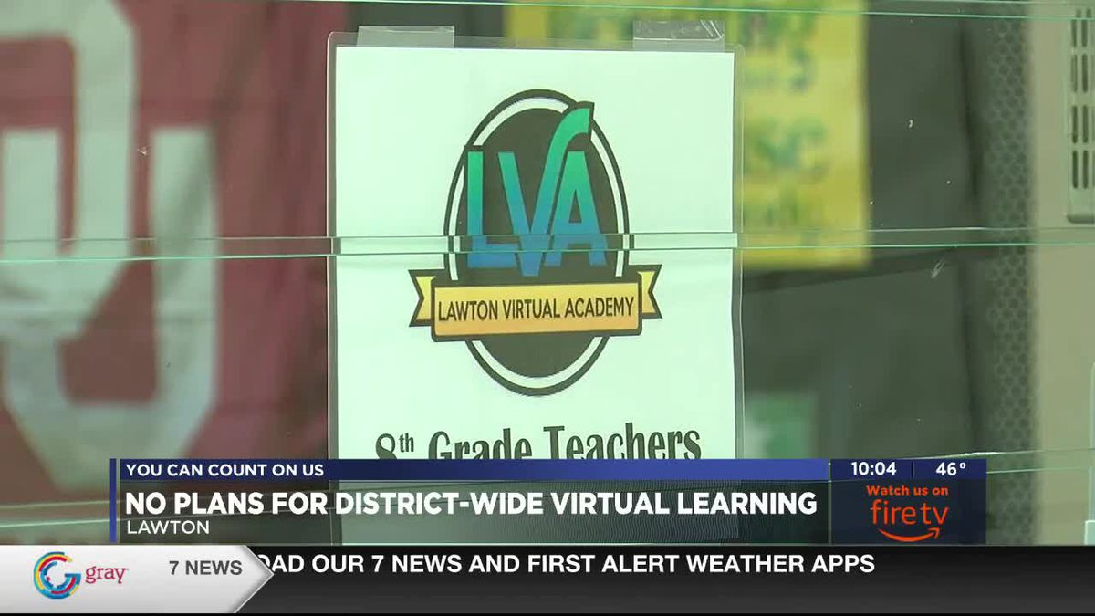 Lawton Public Schools will not be going virtual
