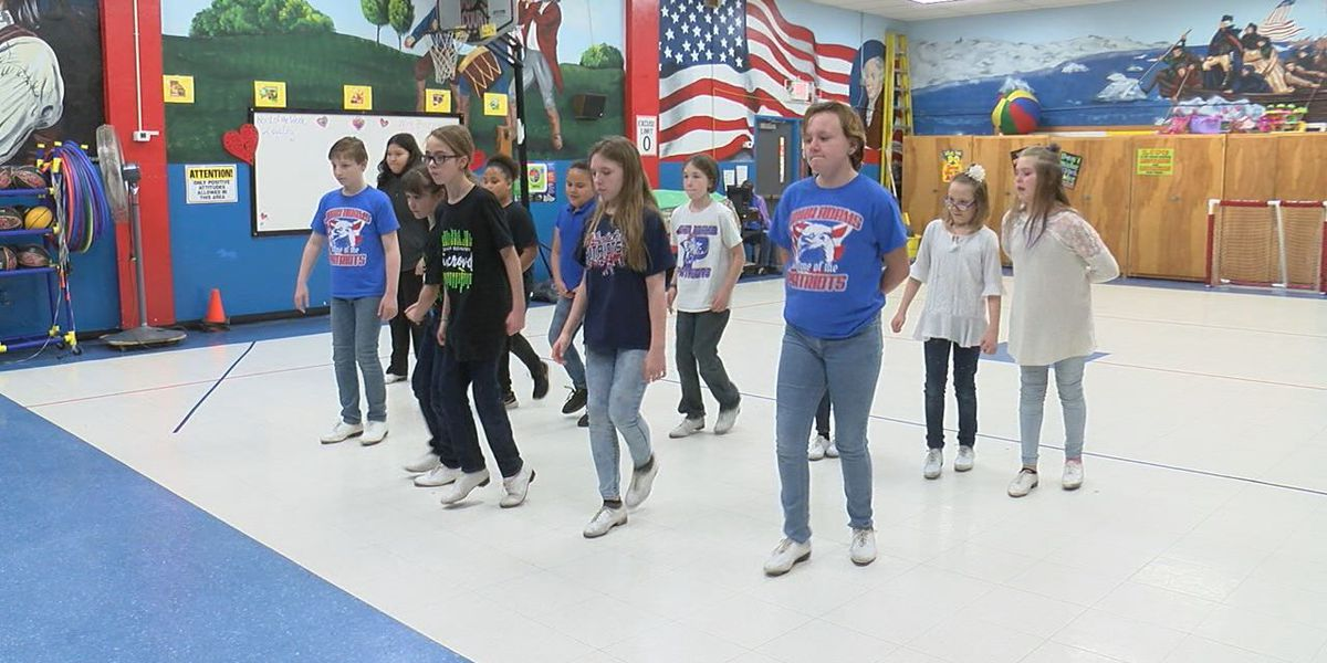 John Adams Elementary brings back clogging for students