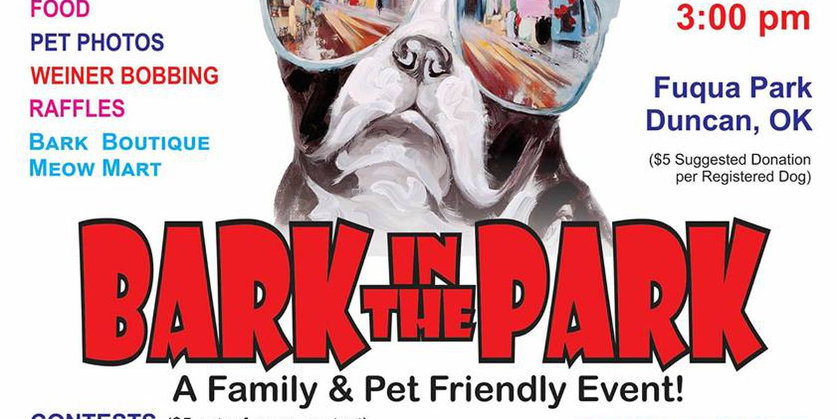 Stephens County Humane Society hosting 13th annual Bark in the Park