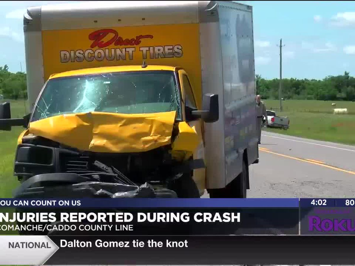 Injuries reported in Comanche County crash