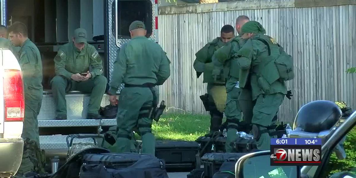 Man arrested in Lawton domestic standoff