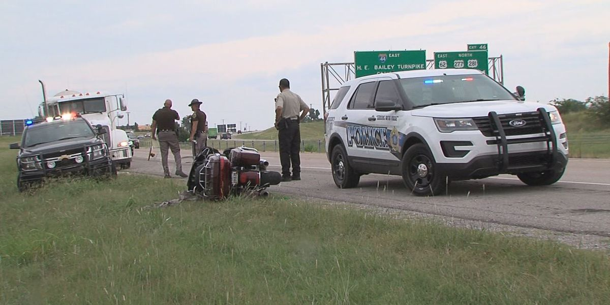 Wichita Falls motorcyclist dies in I-44 accident