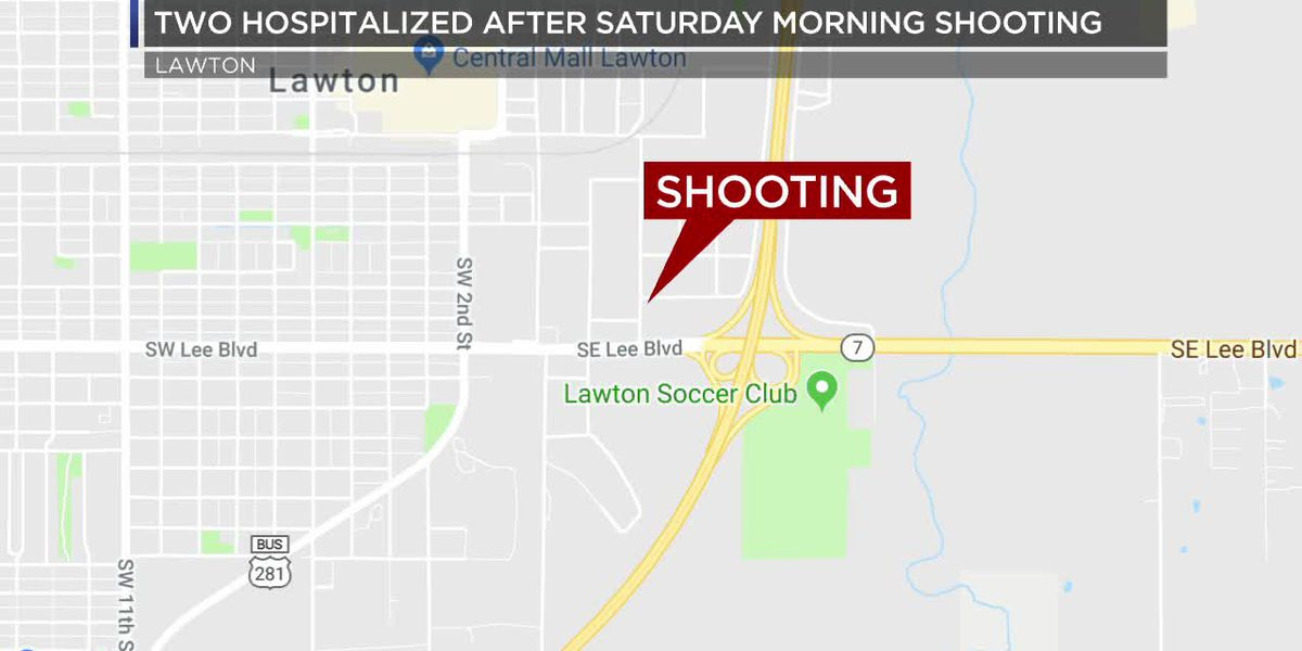 Two people sent to the hospital after Saturday morning shooting