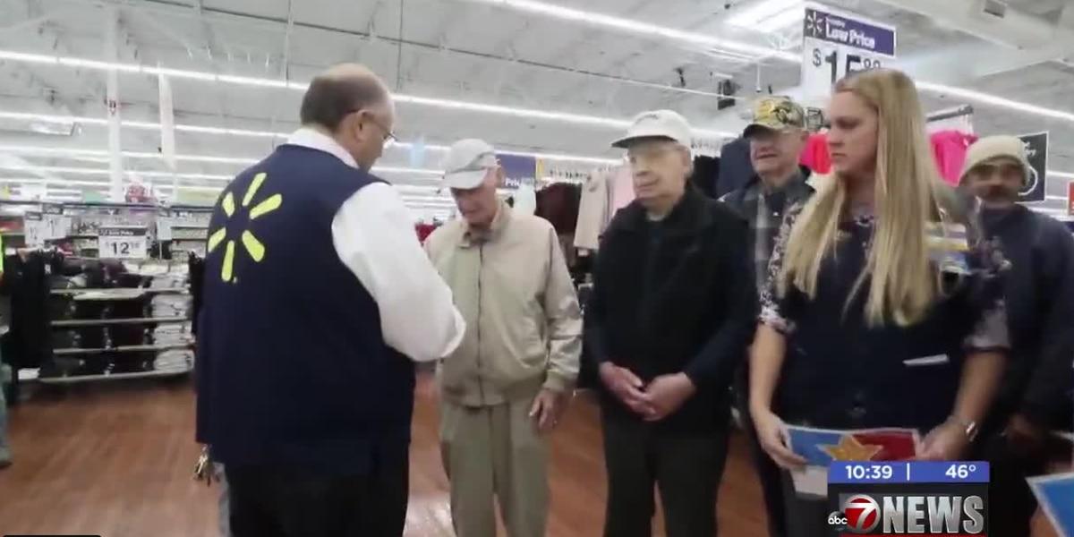 Altus Walmart holds Veterans' Day Ceremony