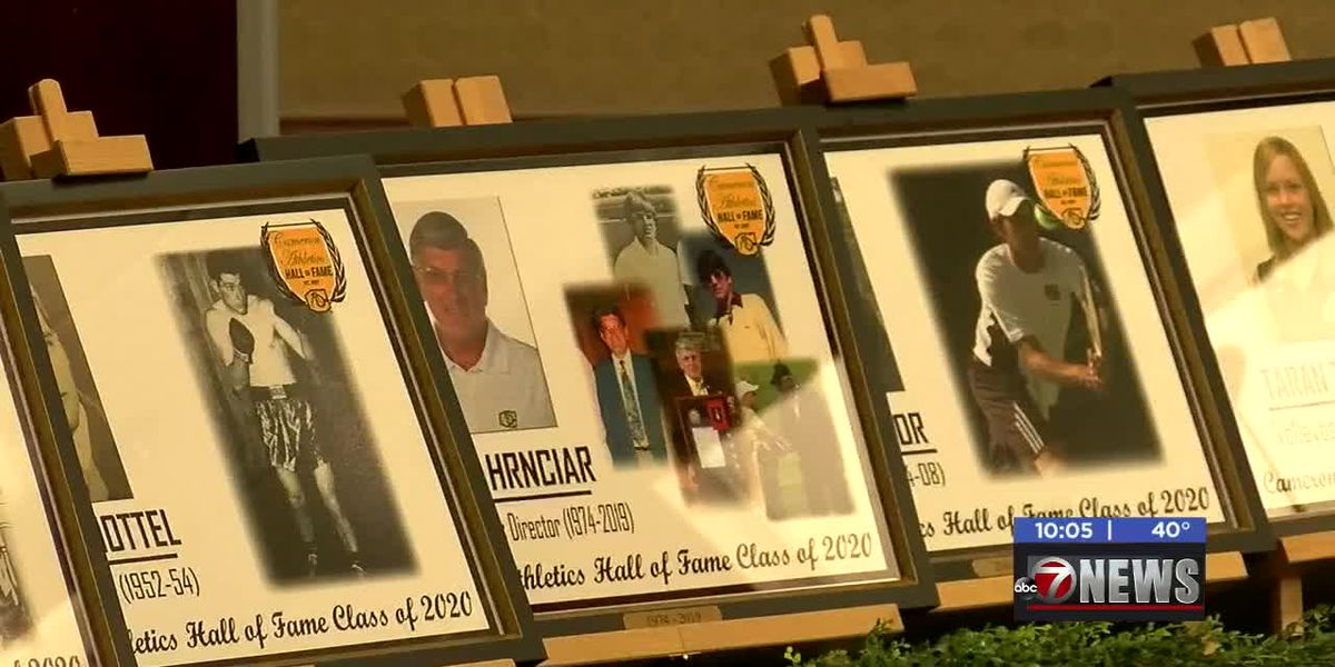 Cameron inducts new members of Athletic Hall of Fame