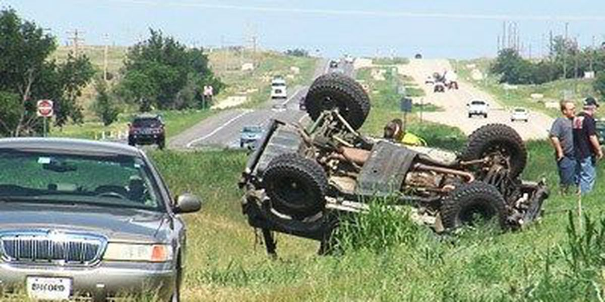 One person killed in rollover accident
