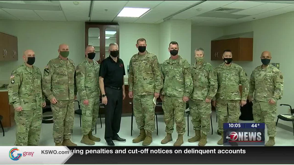 Ft. Sill senior leadership receives first dose of COVID-19 vaccine