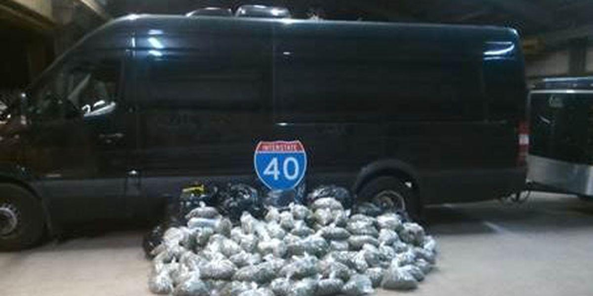 OKC residents arrested after drug seizure on I-40