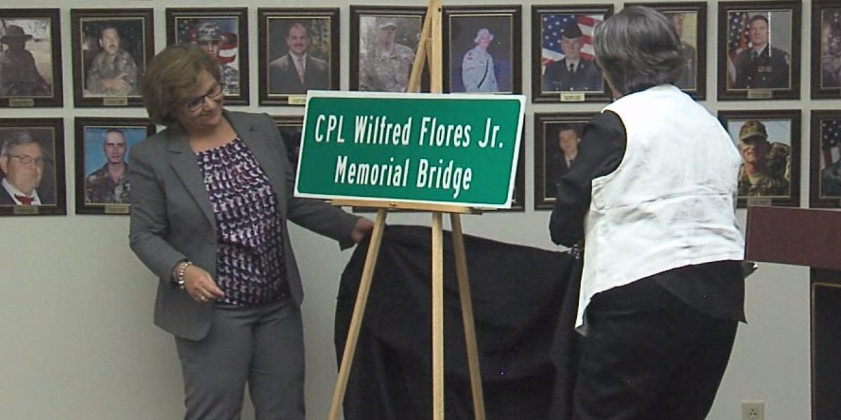 I-44 bridge dedicated to fallen soldier, Fort Sill native