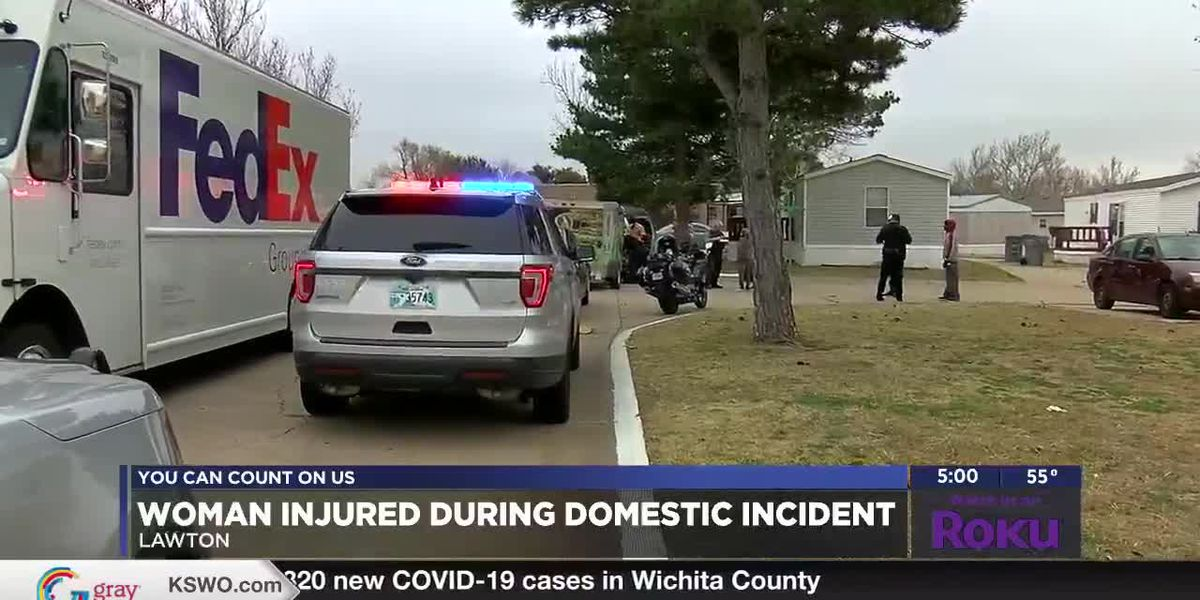 Lawton woman injured during domestic incident