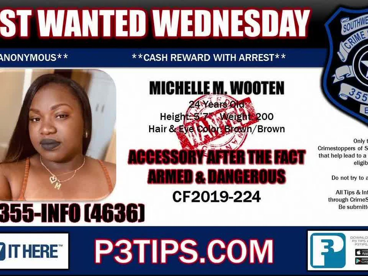 Most Wanted Wednesday: June 19