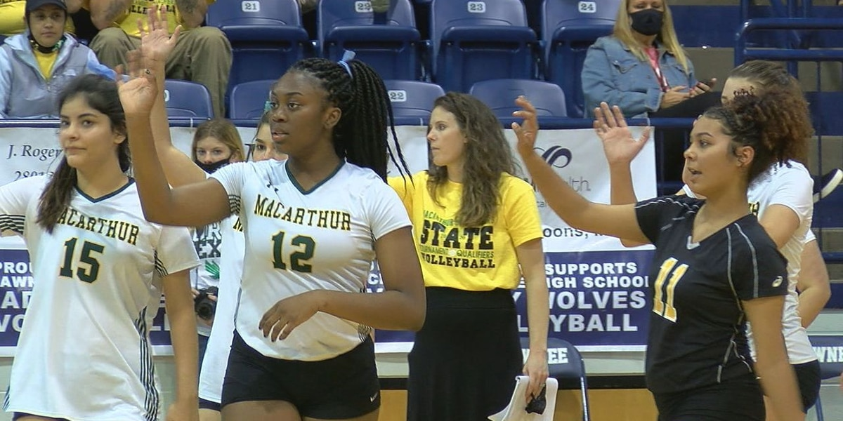 MacArthur's volleyball season ends in 5A State Quarterfinals