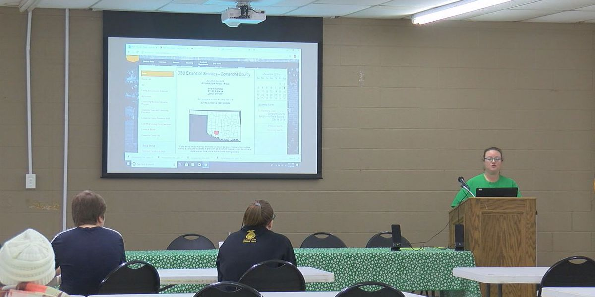 Comanche County 4H hosts county wide meeting