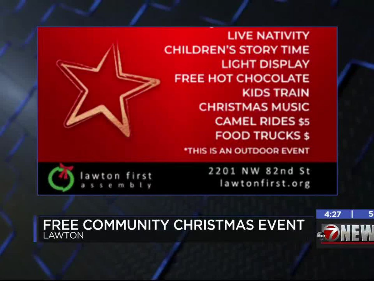 Lawton First Assembly hosting free Live Nativity Christmas event