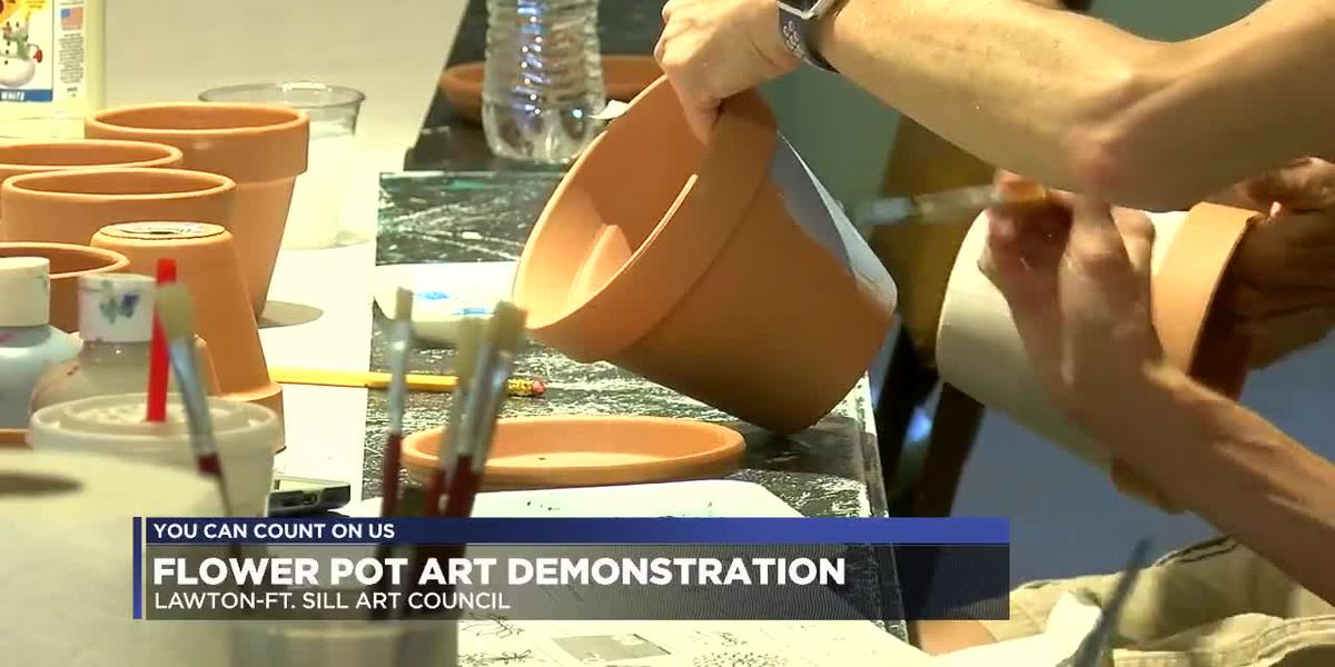 Lawton Ft. Sill Art Council hosts monthly art demonstration