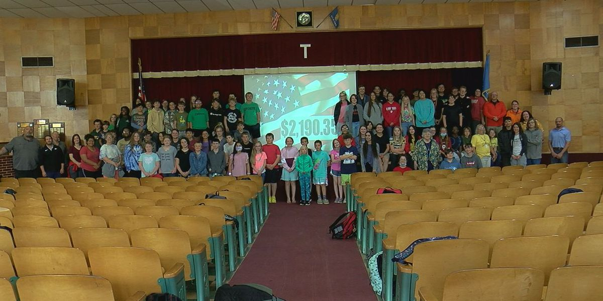 Temple Public Schools raises money for soldiers returning from deployment
