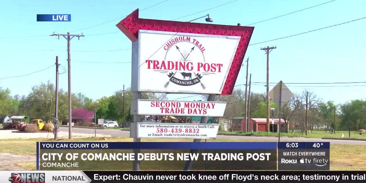 City of Comanche Debuts new Trading Post