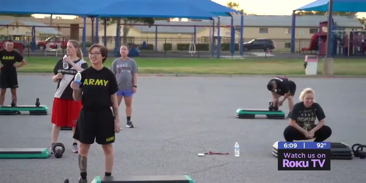 Fitness program keeping soldiers who are pregnant in shape