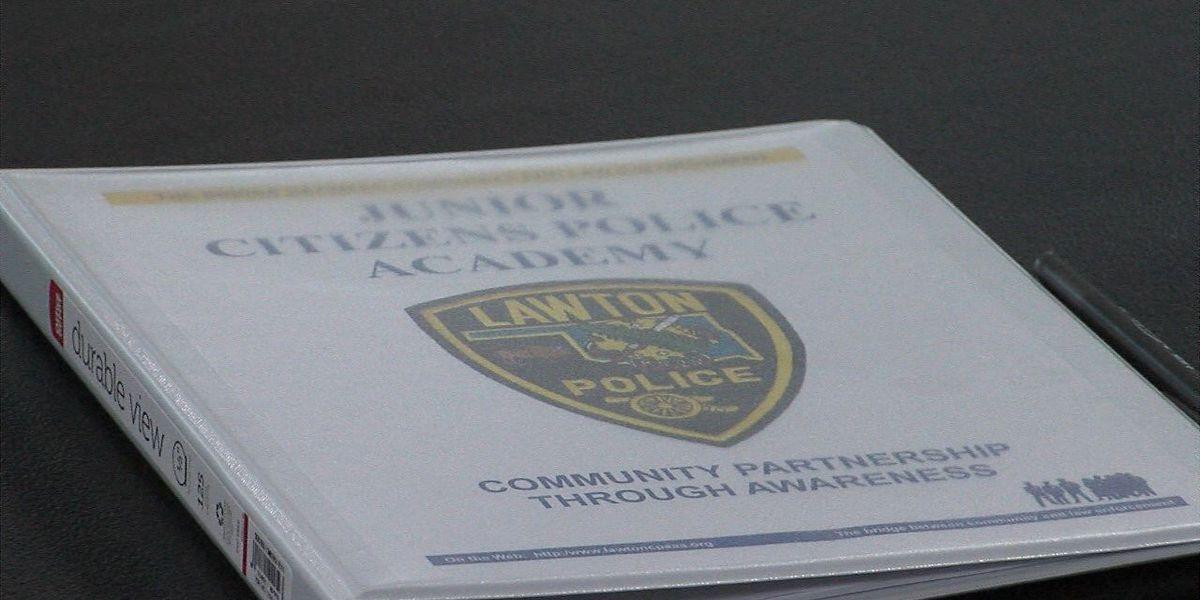 Lawton Police kick off Junior Citizen Police Academy