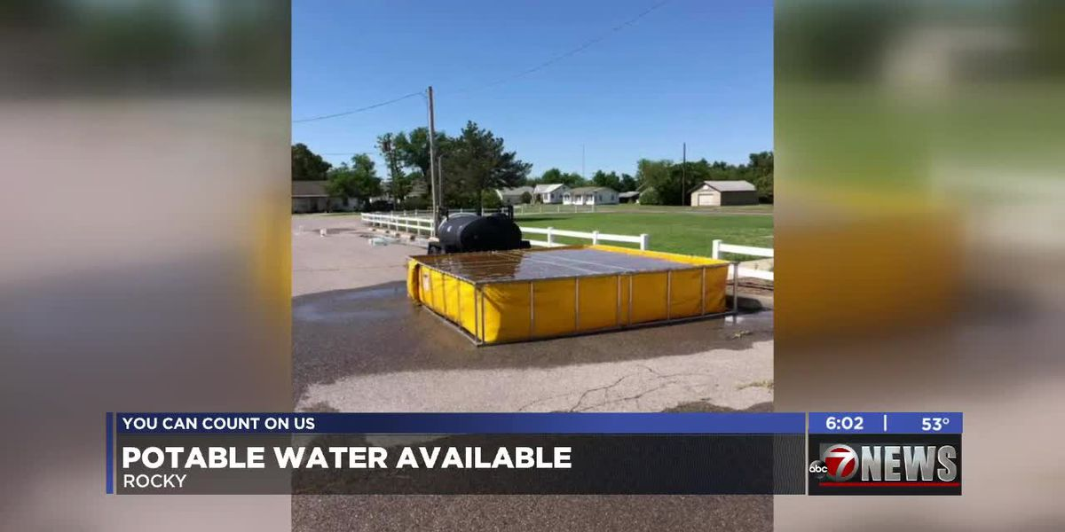 Oklahoma towns without running water after storms