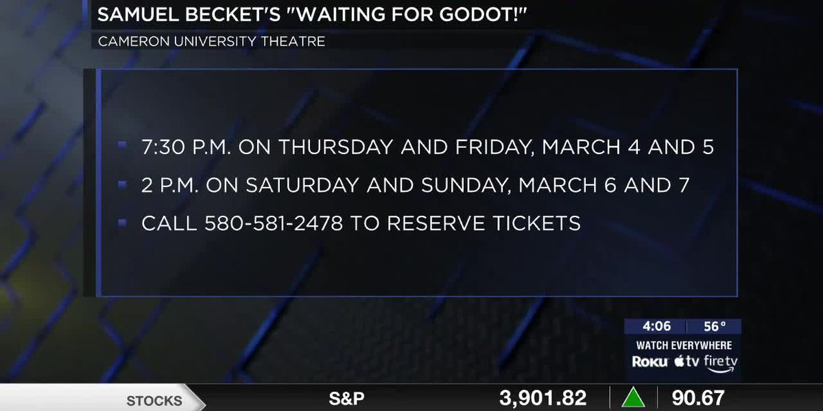 "Cameron University to perform ""Waiting for Godot!"""