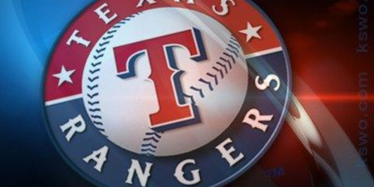 Lewis wins 13th as Rangers beat Rays 12-4