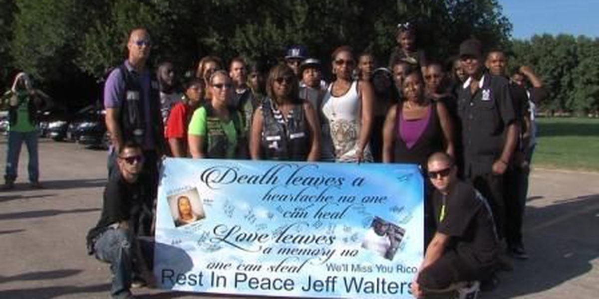 Parade honors motorcyclist killed in accident