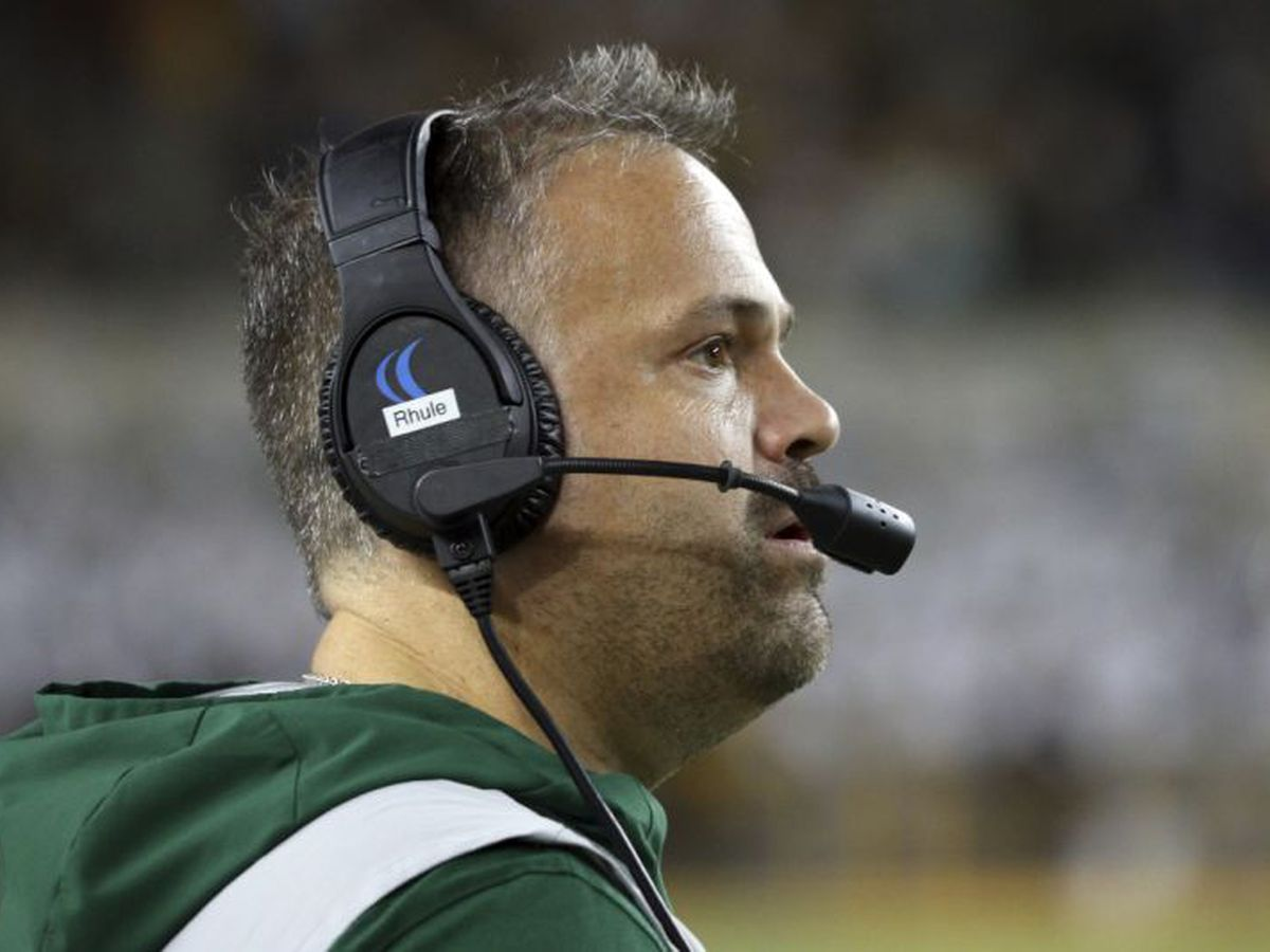 Baylor's Matt Rhule leaving for the NFL