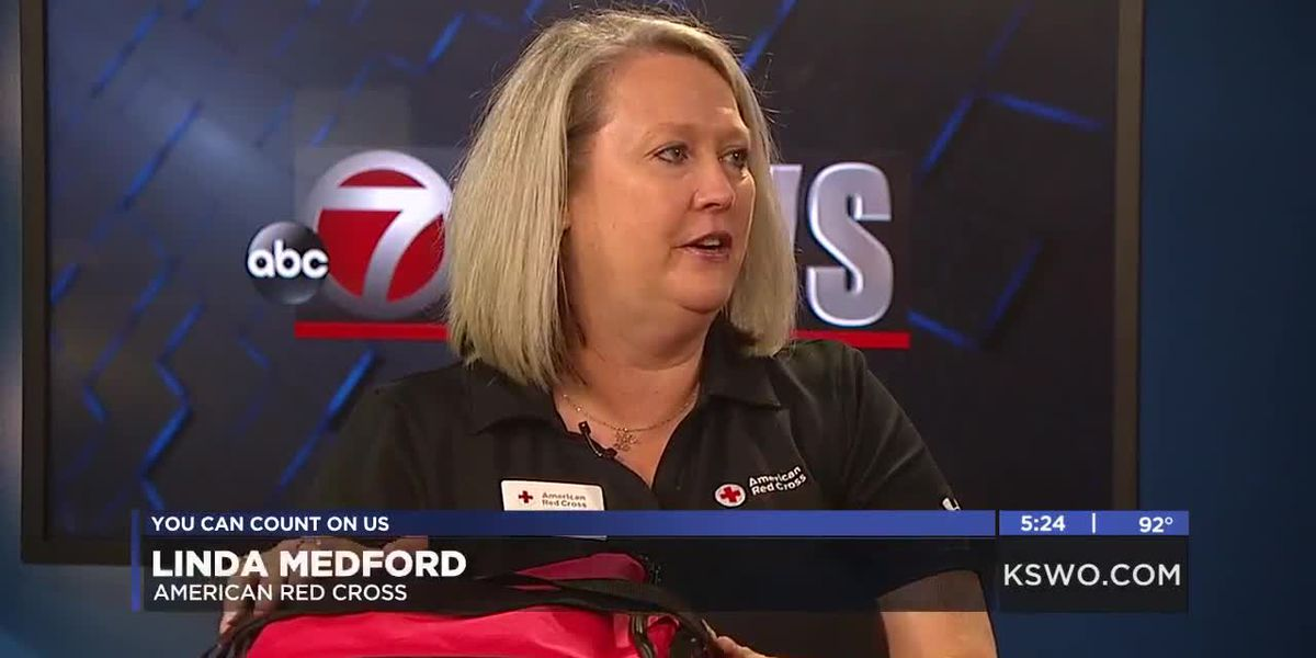 Red Cross gives helpful tips for National Preparedness Month
