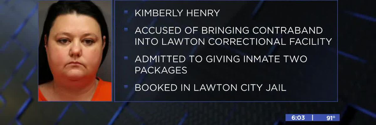 Woman arrested for bringing contraband into Lawton Correctional Facility