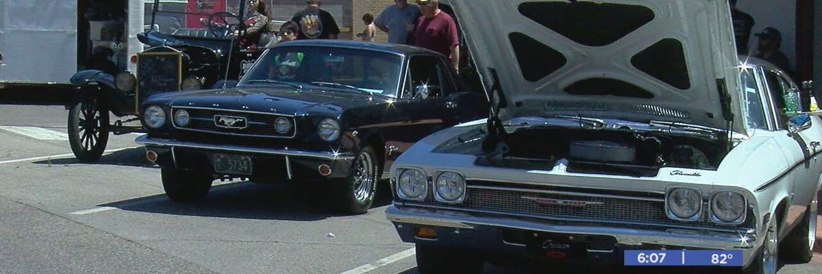 Record turnout at 12th annual Cruisin' the Chisholm Trail car and motorcycle show