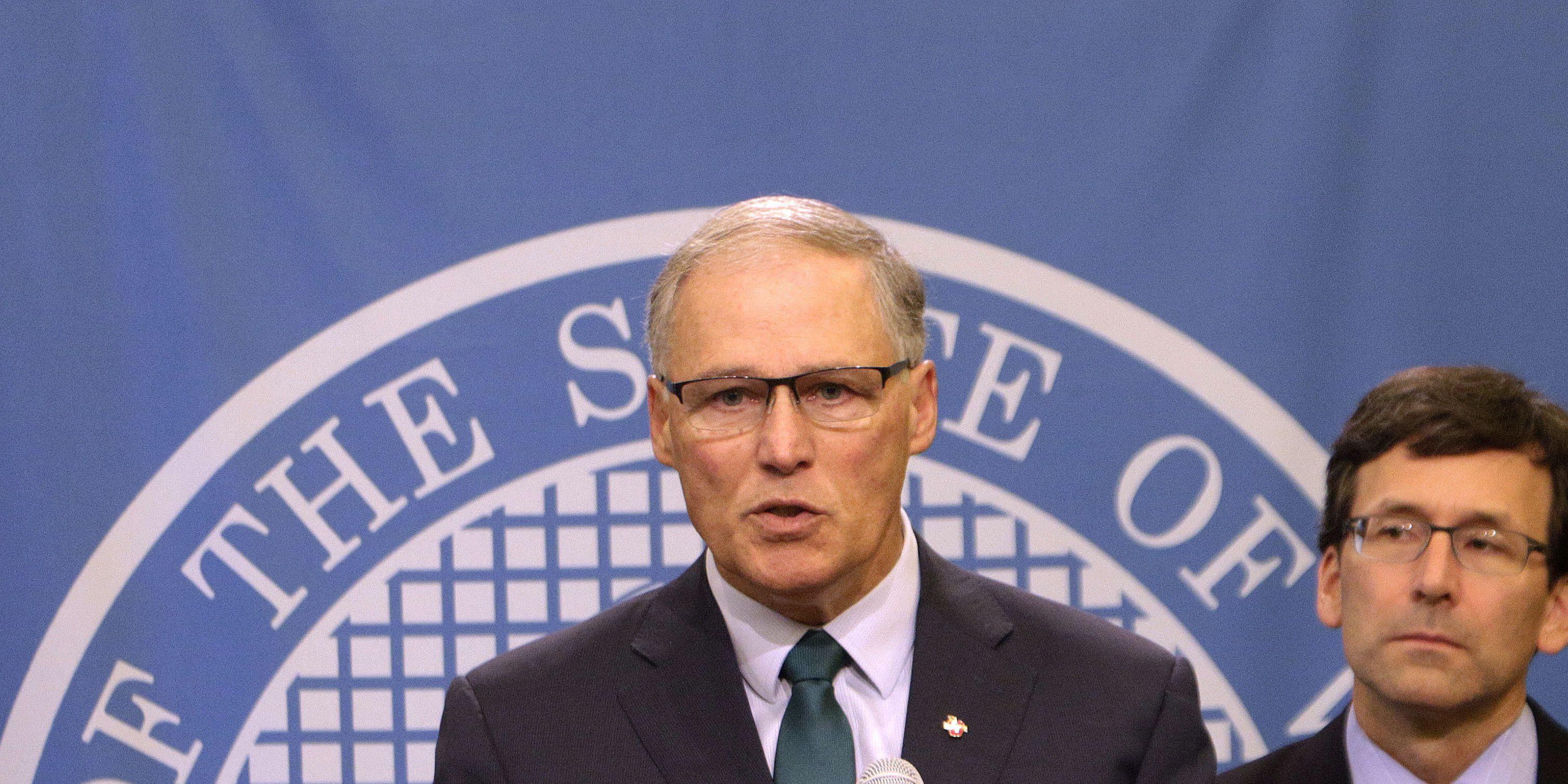 Washington Gov. Inslee running for president