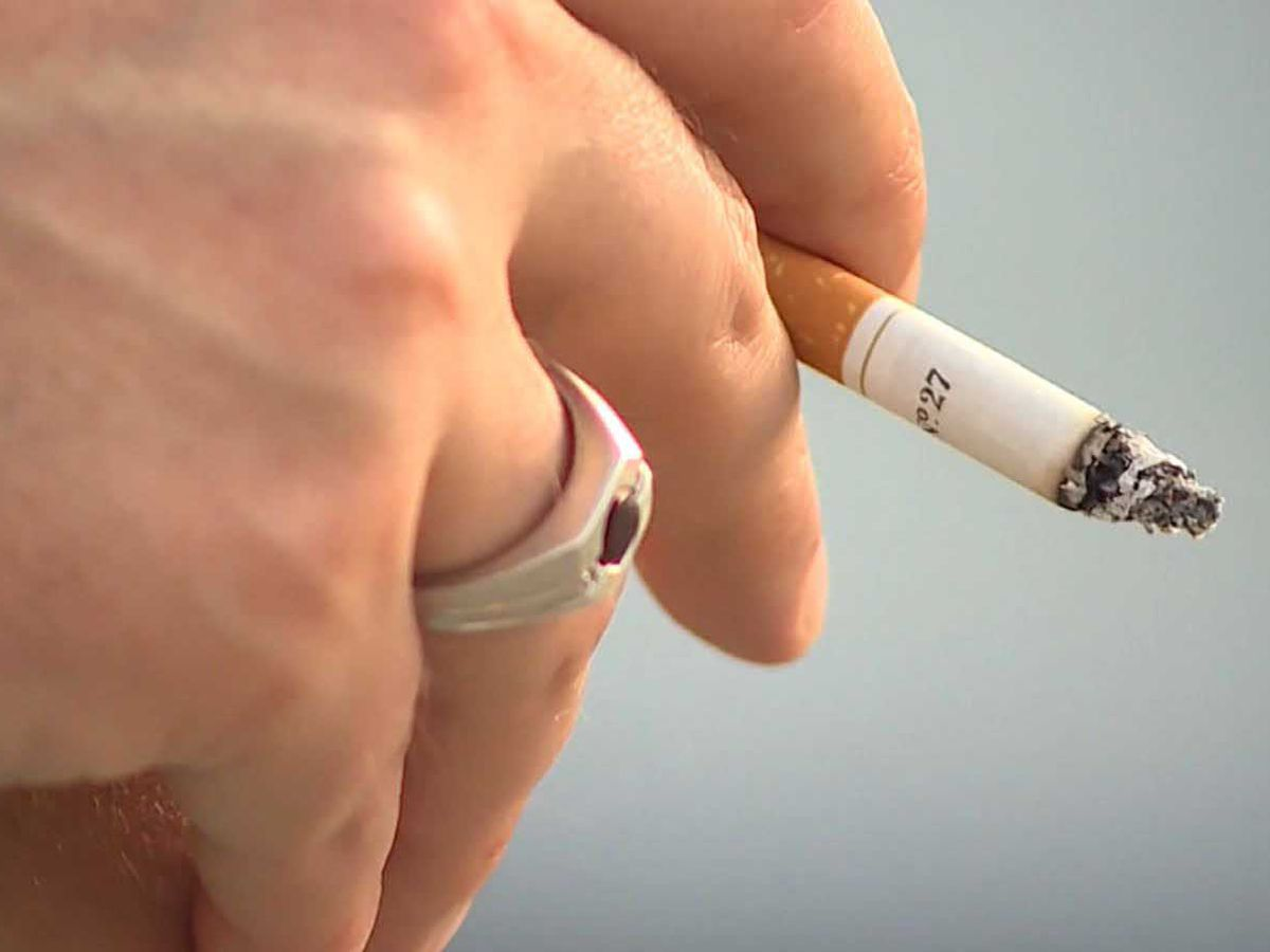 Man fined more than $1,000 for flicking cigarette butt