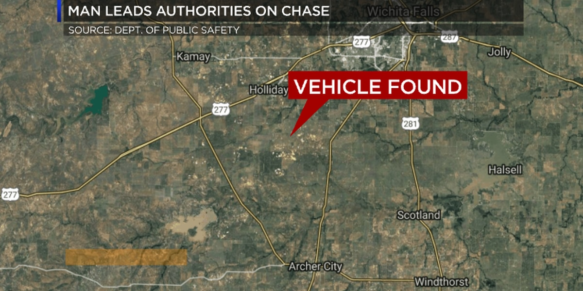 Burkburnett man arrested following police chase early Monday morning
