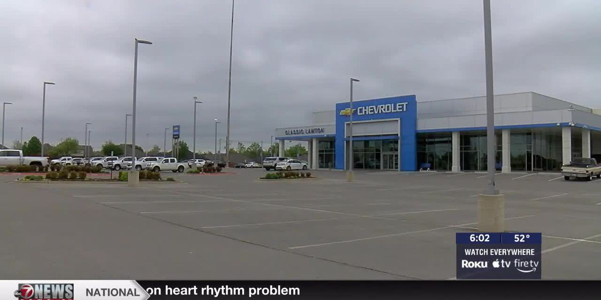 Local dealerships affected by nationwide car shortage