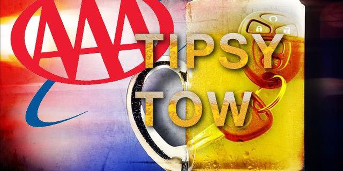AAA Oklahoma offers 'Tipsy Tow' during Labor Day weekend