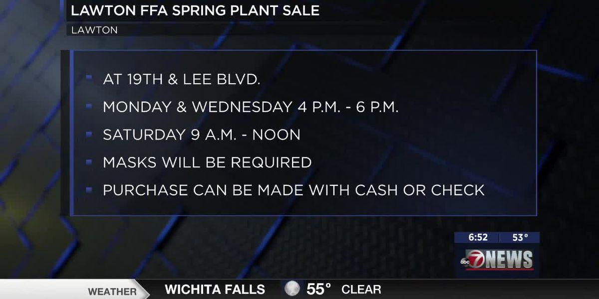 Lawton FFA holding annual Spring Plant Sale