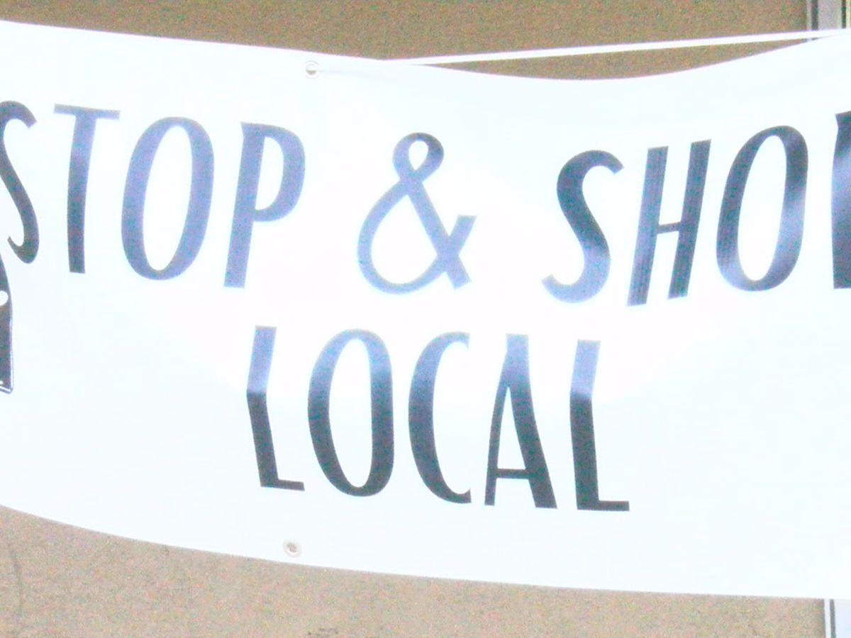 Shoppers support small business during third annual Stop and Shop Local event