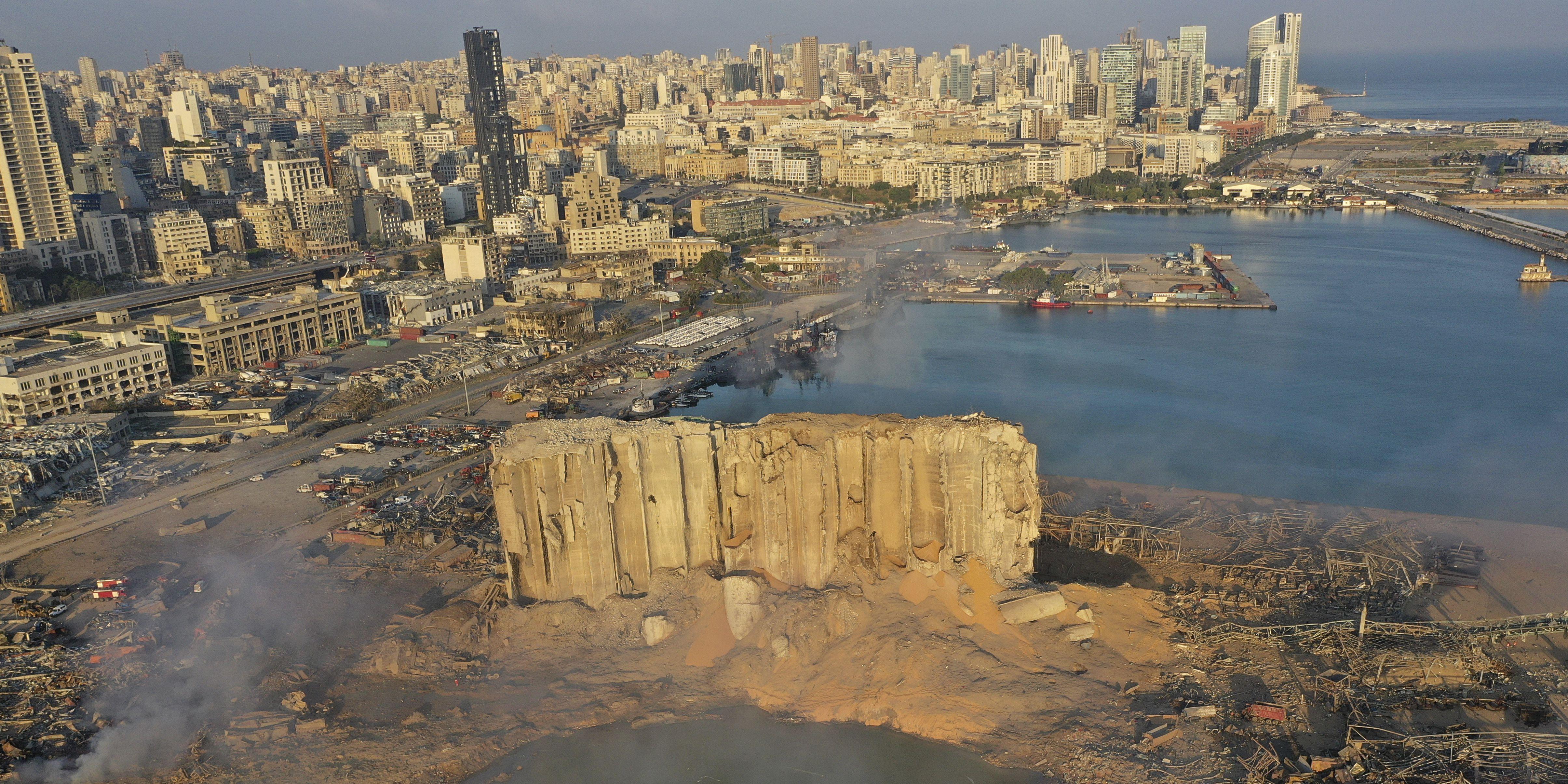 Lebanon putting some Beirut port officials on house arrest after massive explosion