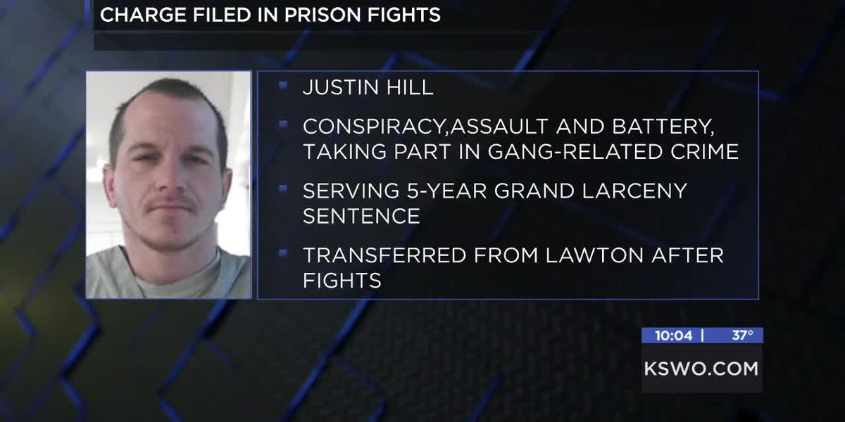 Former inmate at Lawton Correction Facility charged in state-wide prison fights