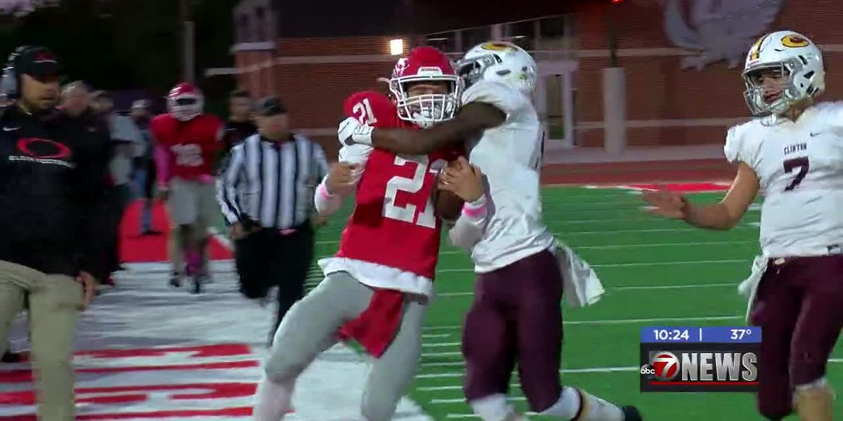 Elgin unable to keep pace with No. 8 Clinton