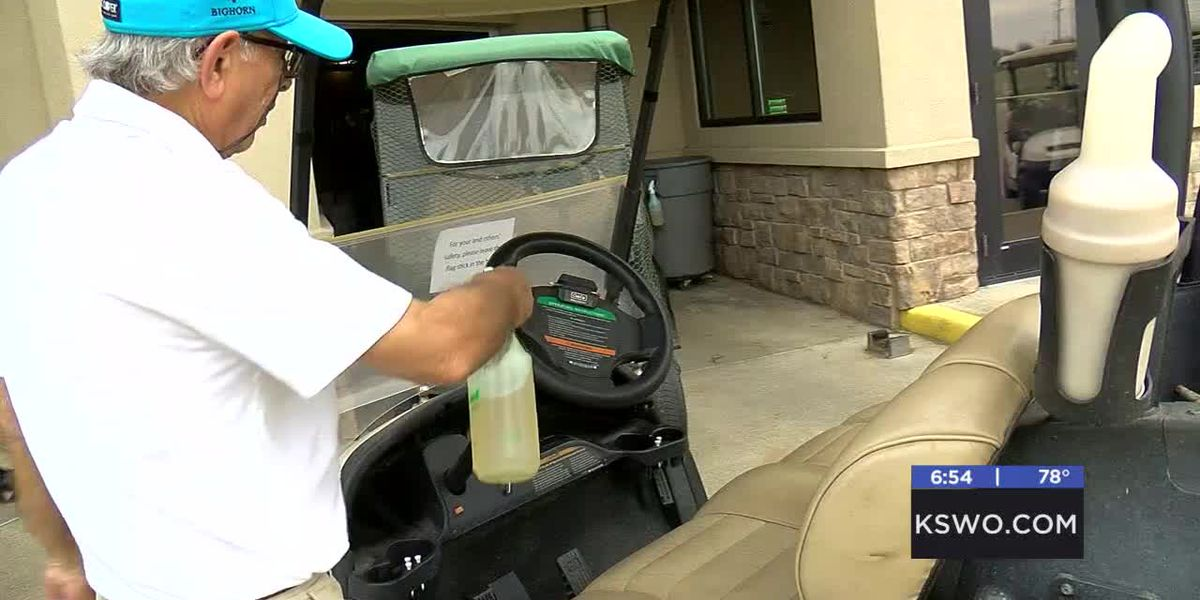 Lawton Country Club taking extra precautions to keep golfers safe amid COVID-19 pandemic