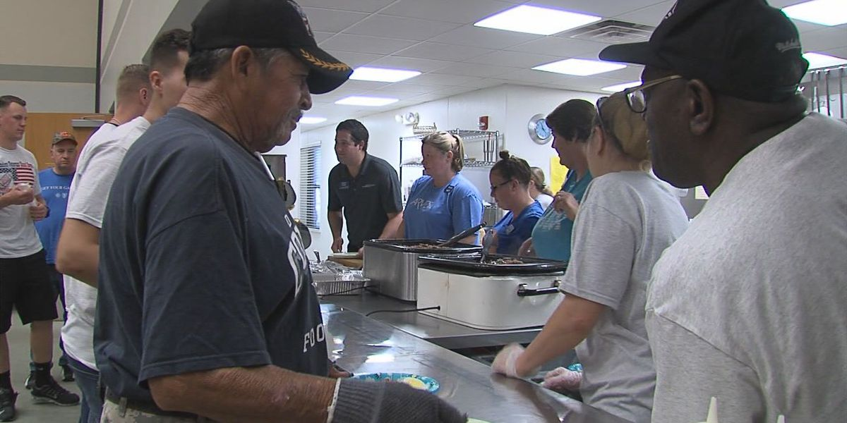 Volunteers prepare for Lawton Stand Down