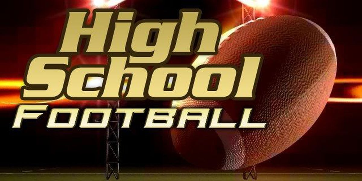 Week 1 high school football scores