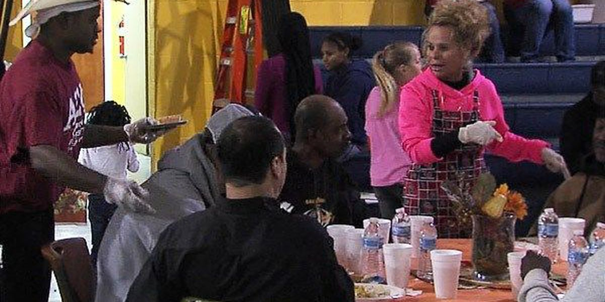 Lawton Salvation Army hosts Thanksgiving feast, delivers meals