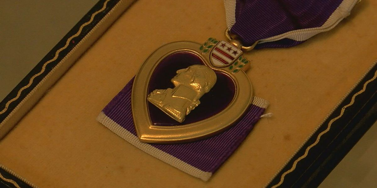 Korean War Veteran honored with Purple Heart ceremony
