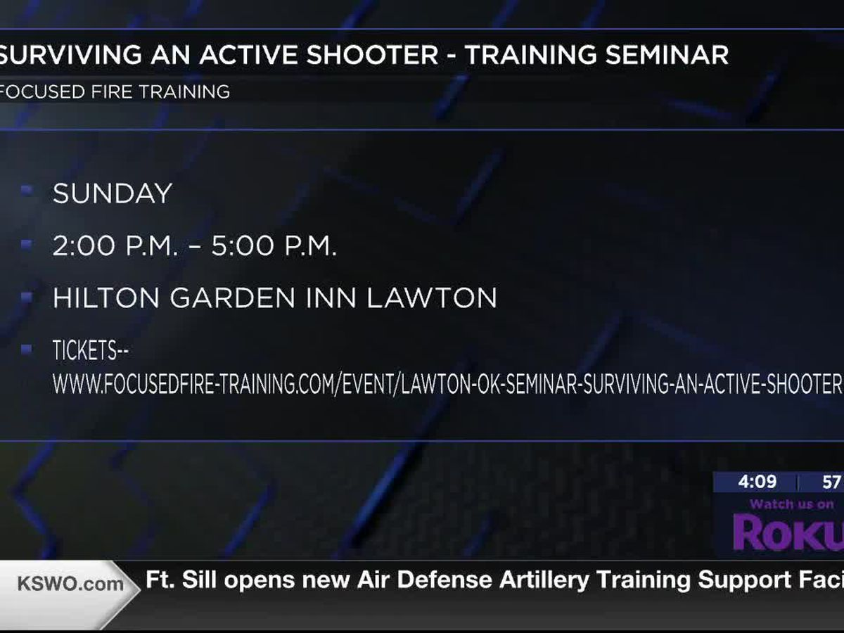 Active shooter seminar to take place in Lawton